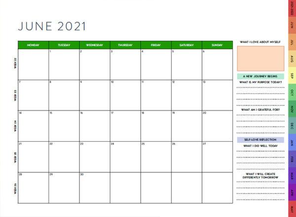 Meg Digital Calendar