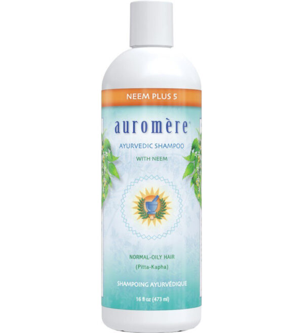16 oz Neem Plus 5 Ayurvedic Shampoo