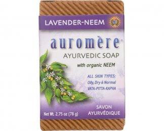 Lavender-Neem Ayurvedic Soap